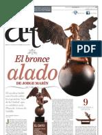 El bronce alado de Jorge Marín