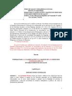 Reforma Del Decreto 2218 (2009) (19!03!09) MPPS