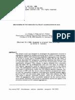 Mechanism of paf induced platelet