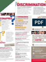 Folleto ¿Qué es la discriminación? - versión en francés