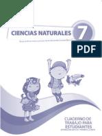 Cuaderno Naturales Septimo Ano