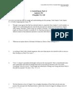 1 Cor Part 2 L#2 9 1-18