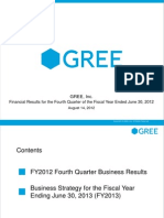 Gree Q4 Financial Results