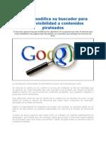 Google Resta Visibilidad a Contenidos Pirateados