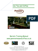 Barista Manual