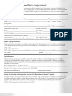 Financial Guarantee Form
