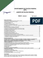 AGENTE PF - 2012 - Índice
