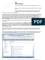 Como Trabajar Con El Formato PDF Desde ILUSTRATOR