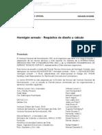 NCH 0430 OF2008. Hormigón armado - Requisitos de diseño y cálculo