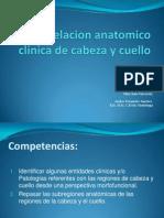 Anatomico Clinica de Cabeza