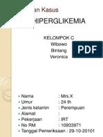 Kasus Hiperglikemia - C
