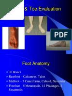 Foot & Toe Evaluation