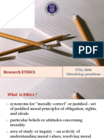 5 Research Ethics