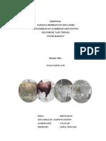"Proposal Sarjana Membangun Desa (SMD) Agribisnis Sapi Potong Kelompok Tani Ternak ""Ngudi Rahayu"" (Lolos)"