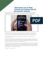 Colombia Busca Ser Lider en Desarrollo de Aplicaciones
