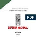 UNFV. Antologia de la Defensa Nacional