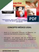 Pericias en el Aborto