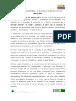 Características del módulo de aprendizaje de autogestión del aprendizaje