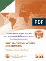 Violencia y narcotràfico. Un estudio con perspectiva militar.