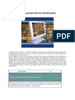 Crea Tu Propia Libreria Virtual Gratis 2012