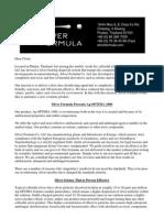 AG Optima Sales Letter
