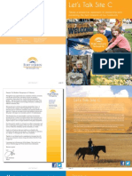 Let's Talk Site C - Print Booklet