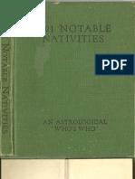 1001 Notable Nativities-Alan Leo (1917)