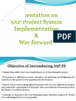 77011444 SAP PS Way Forward