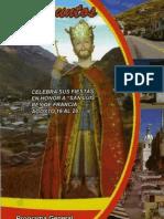 Programa de fiestas Guasuntos 2012