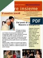 Scarabeus -Gruppo di lettura, numero unico 2008