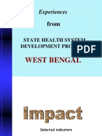 Experiences From State Health System Development Project