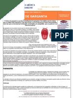 DOLOR de GARGANTA - GUIA MEDICA - LAS ENFERMEDADES MAS CORRIENTES | Dolor de Garganta - Faringitis - Al Tragar - Enfermedades - Infeccion - Inflamacion