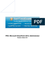 Microsoft 70-668 Mock Exams