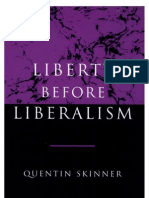 Skinner - Liberty Before Liberalism