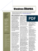Wondrous Dharma Issue 30 - September 2012
