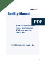 Quality Manual