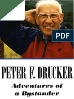 Peter Drucker - Adventures of a Bystander (Ocr)