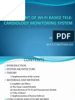 Development of Wi-fi Based Telecardiology Monitoring System