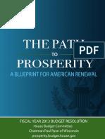 Path to Prosperity 2013