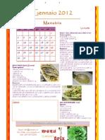calendario MENUTRIX 2012