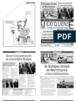 Versión impresa del periódico El mexiquense 16 agosto 2012
