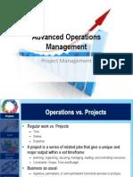AOM Presentation - Project Management