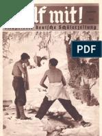 Hilf Mit - Illustrierte Deutsche Schuelerzeitung - 1935 Dezember (33 S., Scan, Fraktur)