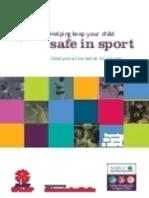 Safe in Sport CP Leaflet