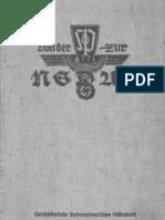 Hoeller, Franz - Von Der SDP Zur NSDAP - Ein Dokumentarischer Bildbericht (1939, 122 S., Scan, Fraktur)