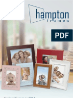 Hampton Frames Spring/Summer 2011 Catalogue