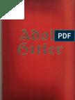 Hoffmann, Heinrich - Adolf Hitler - Bilder Aus Dem Leben Des Fuehrers (1936, 134 S., Scan, Fraktur)