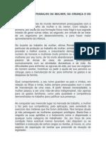 PROTEÇÃO AO TRABALHO DA MULHER 2