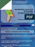 Prezentare proiectelor implementate de ADR Sud