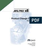 Product Change Control MFGPro